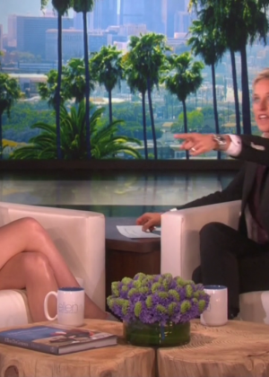 Saoirse Ronan - The Ellen DeGeneres Show in LA