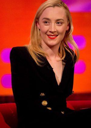 Saoirse Ronan - 'The Graham Norton Show' in London