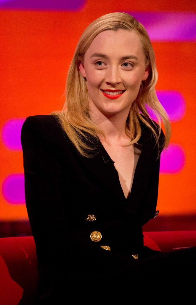 Saoirse Ronan - 'The Graham Norton Show' in London