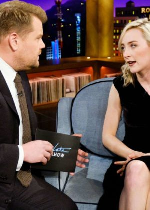 Saoirse Ronan - 'The Late Late Show with James Corden' in Los Angeles