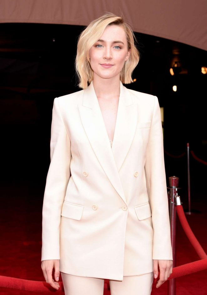 Saoirse Ronan - 'The Seagull' Premiere at 2018 Tribeca Film Festival in New York
