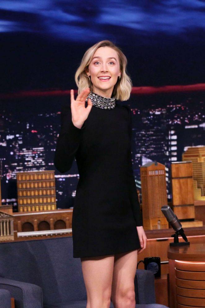Saoirse Ronan – 'The Tonight Show Starring Jimmy Fallon' in NYC