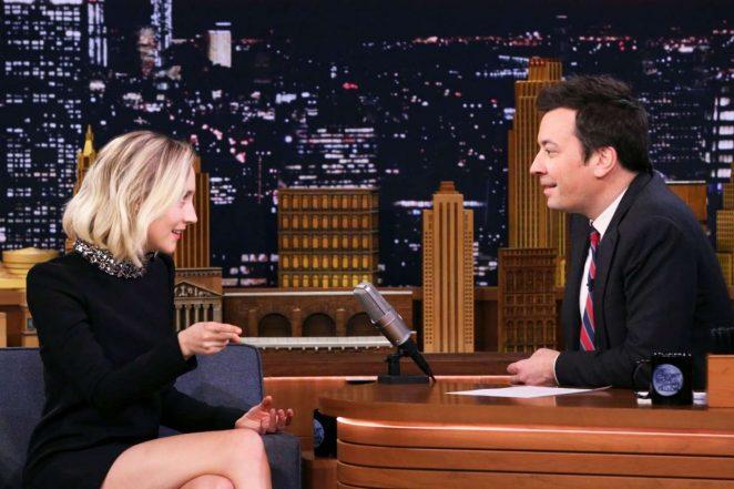 Saoirse Ronan: The Tonight Show Starring Jimmy Fallon -04
