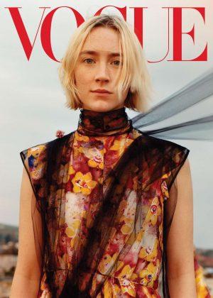 Saoirse Ronan -  Vogue US Magazine (August 2018)