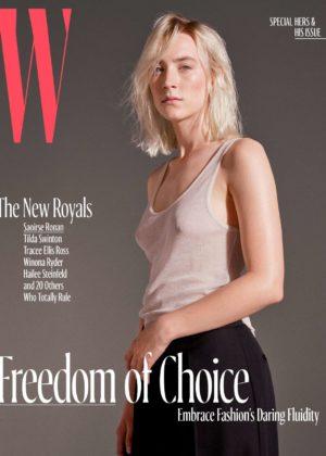 Saoirse Ronan - W Magazine (October 2017 issue)