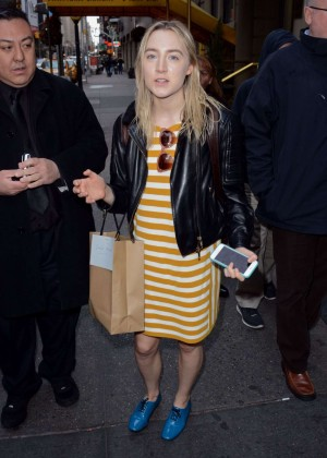 Saoirse Ronan - Walter Kerr Theatre in New York