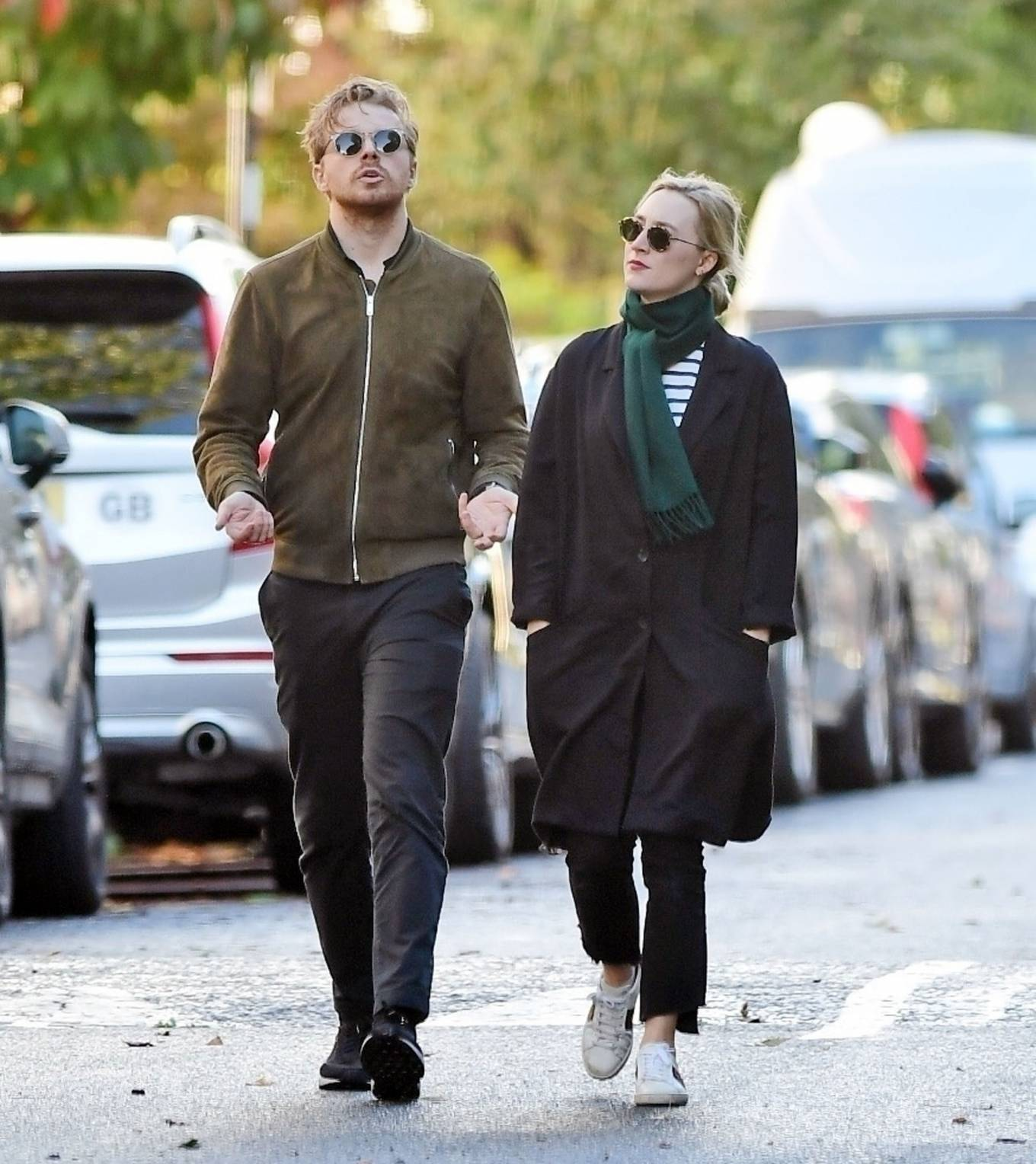 Saoirse Ronan - With Jack Lowden out in London