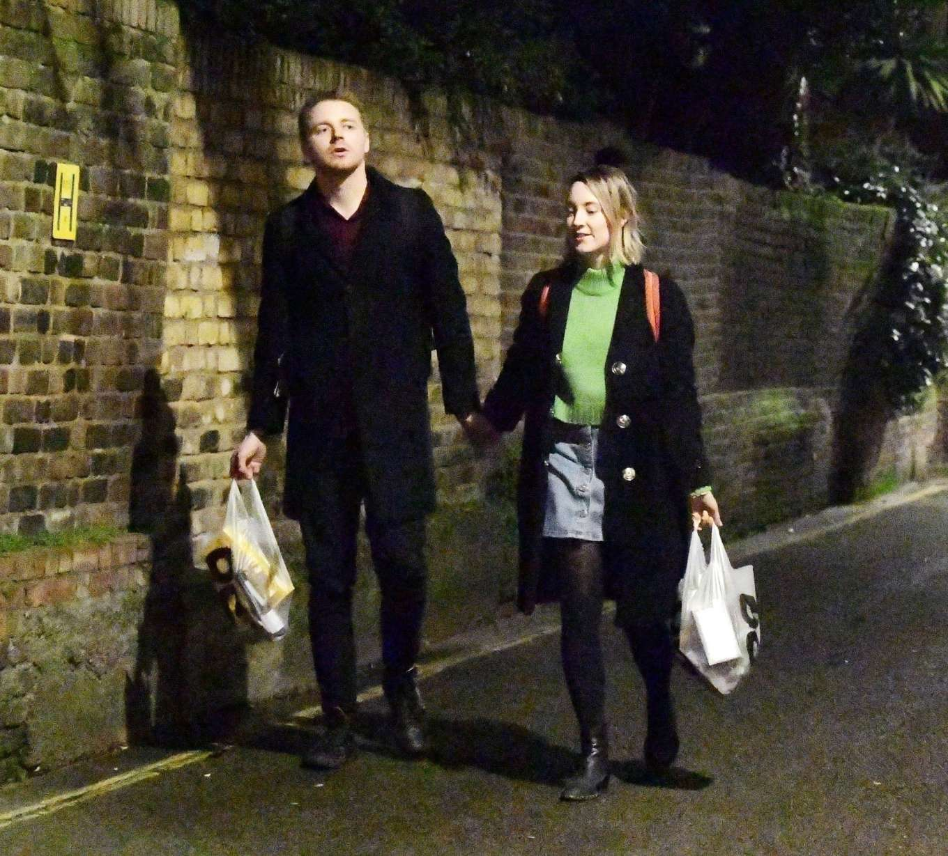 Saoirse Ronan With Jack Lowden Out In London 09 Gotceleb