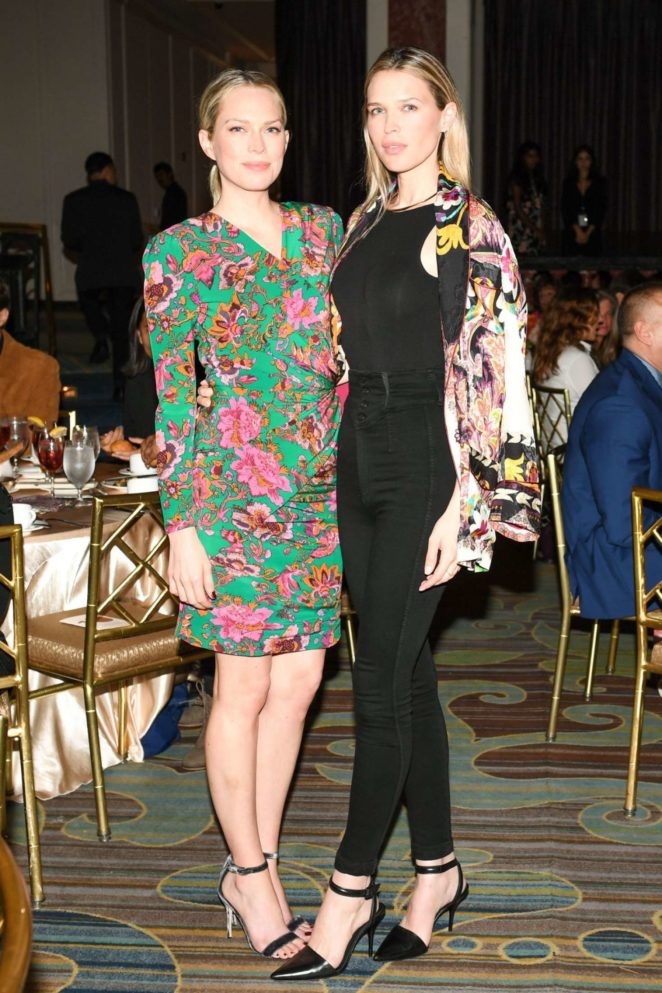 Sara and Erin Foster - 10th MOCA Distinguished Women in the Arts luncheon in LA