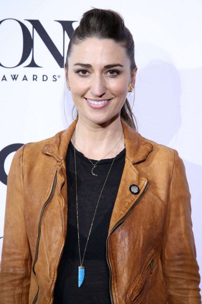 Sara Bareilles - 2016 Tony Awards Meet The Nominees in NYC
