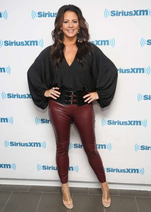 Sara Evans at SiriusXM Studios in New York City