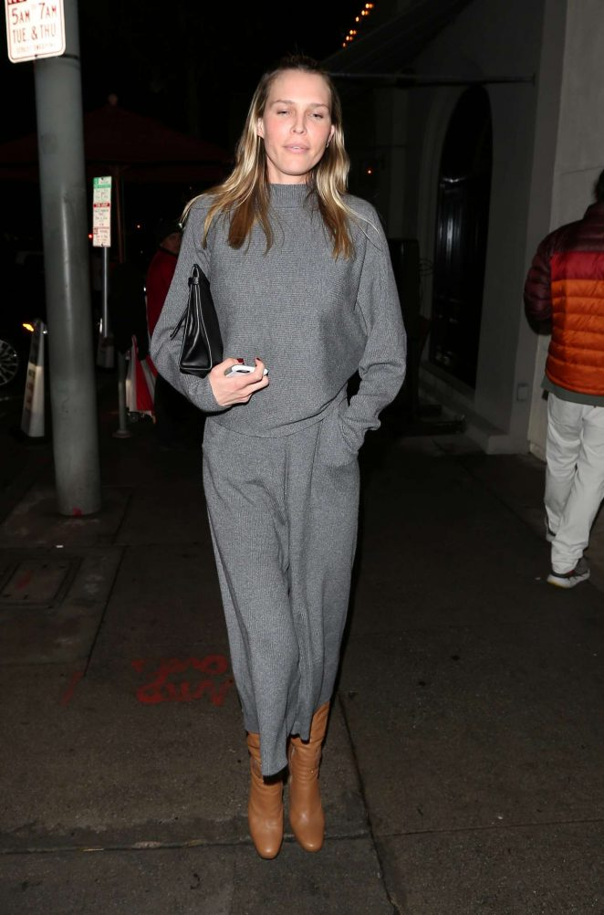 Sara Foster at Craig's restaurant in West Hollywood