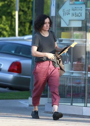 Sara Gilbert - Out in Los Angeles