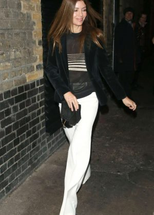 Sara McDonald at The Chiltern Firehouse in London
