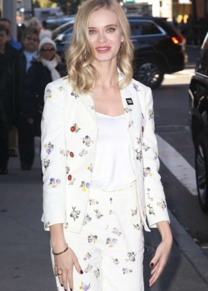 Sara Paxton - Arrives at AOL Build Series in NYC