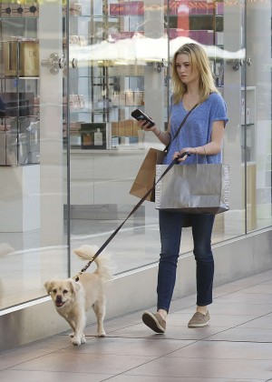 Sara Paxton - Walks her dog in West Hollywood
