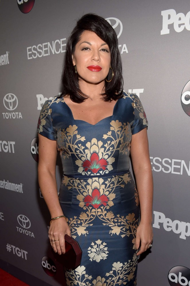 Sara Ramirez - ABC's TGIT line-up Celebration in West Hollywood