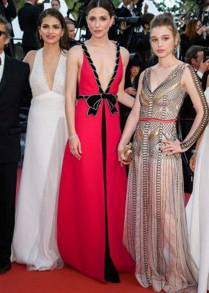 Sara Salamo Carla Campra and Barbara Lennie - 'Everybody Knows' Premiere at 2018 Cannes