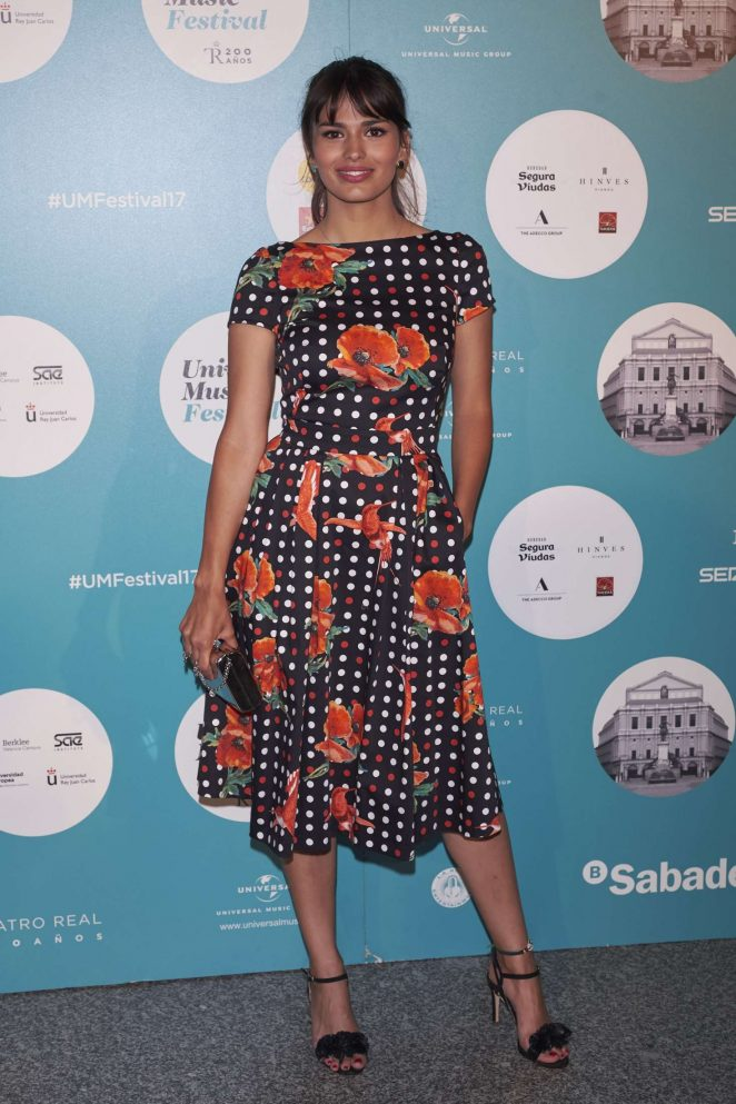 Sara Salamo - Universal Music Festival 2017 in Madrid