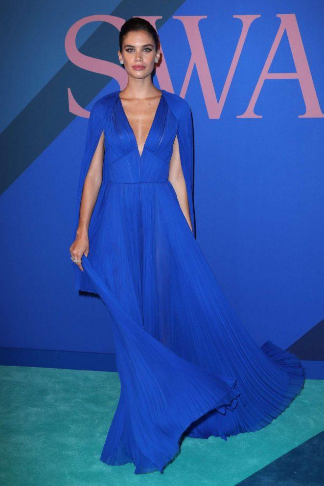 Sara Sampaio – 2017 CFDA Fashion Awards in New York