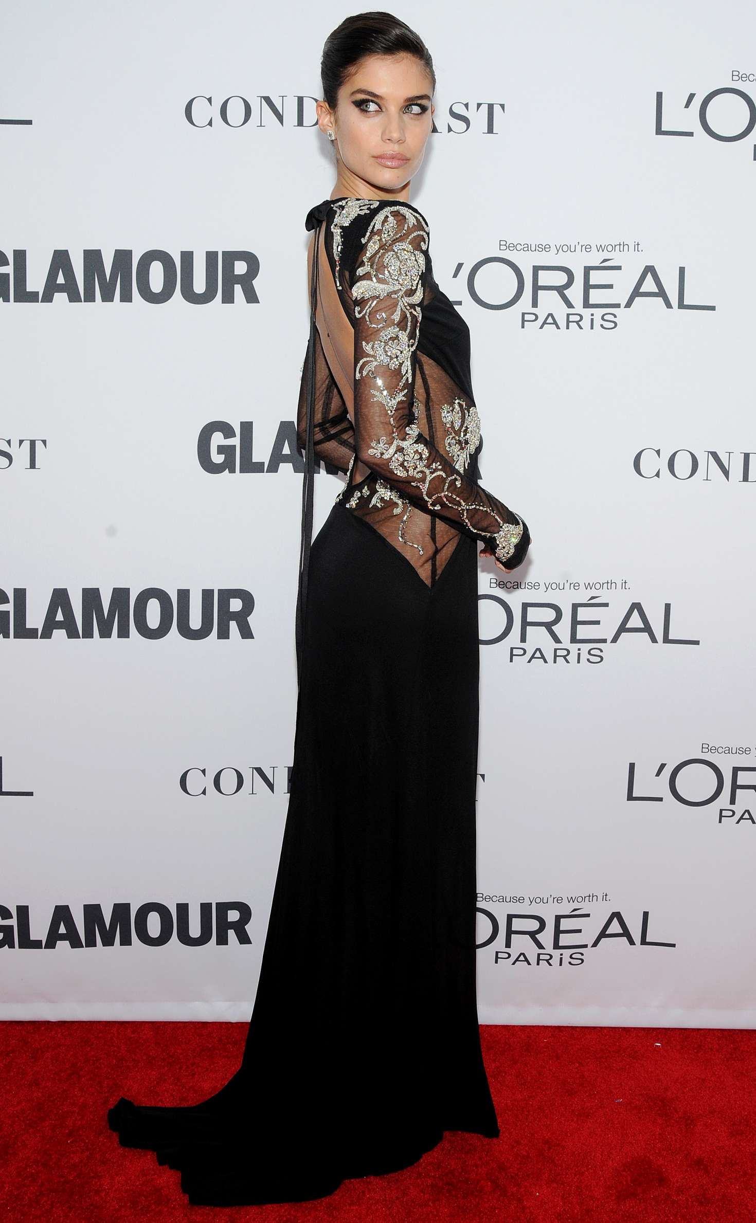 Sara Sampaio 2017 : Sara Sampaio: 2017 Glamour Women of The Year Awards -02
