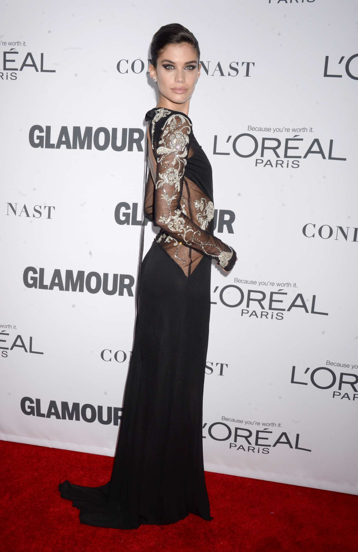 Sara Sampaio 2017 : Sara Sampaio: 2017 Glamour Women of The Year Awards -03