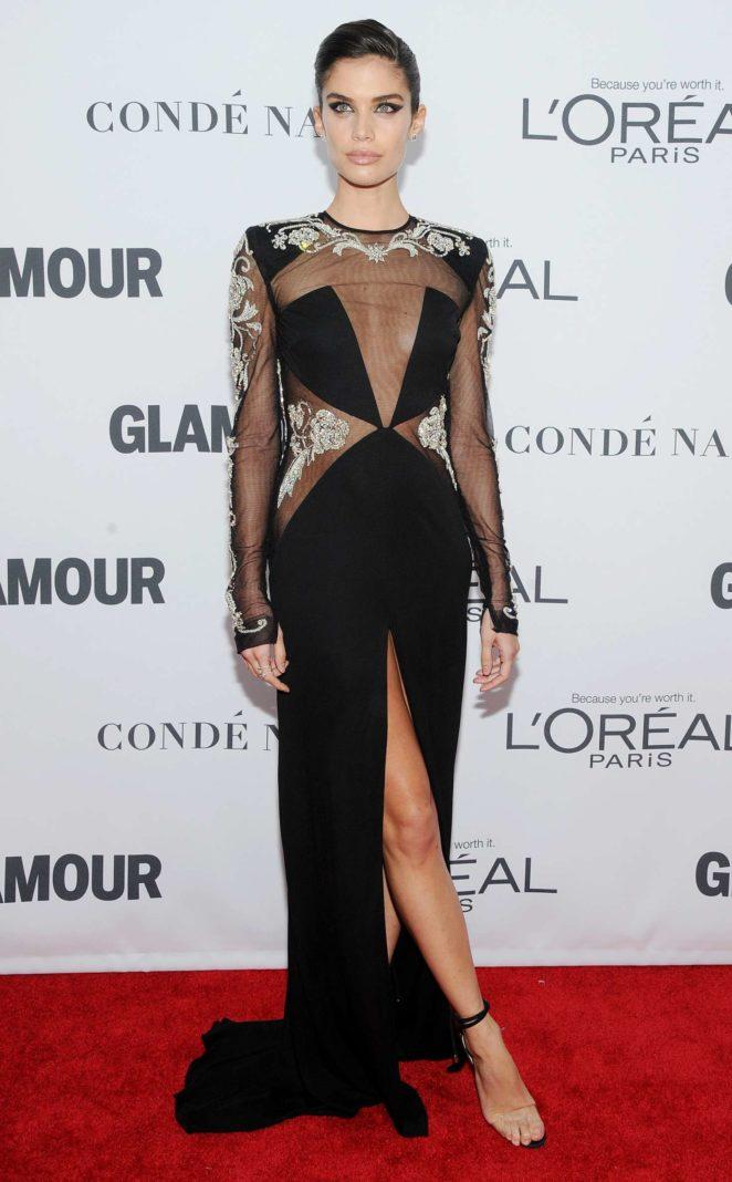 Sara Sampaio – 2017 Glamour Women of The Year Awards in NY