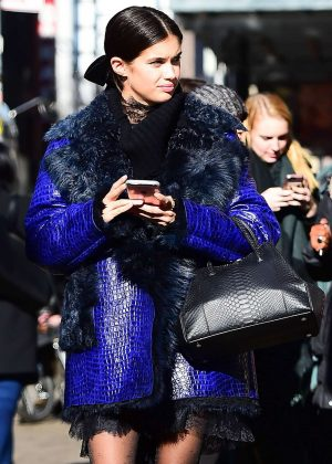 Sara Sampaio - 2017 New York fashion show