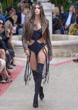 Sara Sampaio - 2018 Philipp Plein Resort Runway Show In Cannes