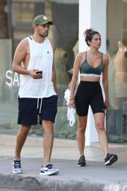 Sara Sampaio and her brother out in Los Angeles
