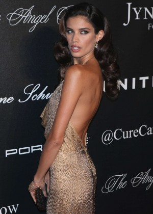Sara Sampaio - Angel Ball 2015 Hosted by Gabrielle's Angel Foundation in NYC