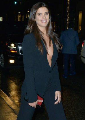 Sara Sampaio - Arrives at Giorgio Armani Pre Oscars Party in LA