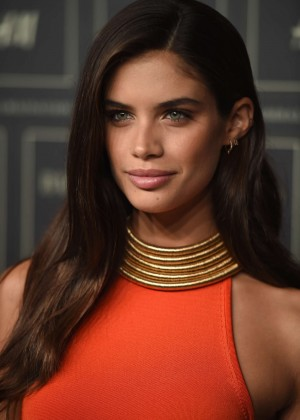 Sara Sampaio - Balmain x H&M Collection Launch in NYC