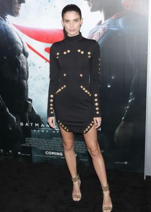 Sara Sampaio - 'Batman V Superman: Dawn Of Justice' Premiere in New York City