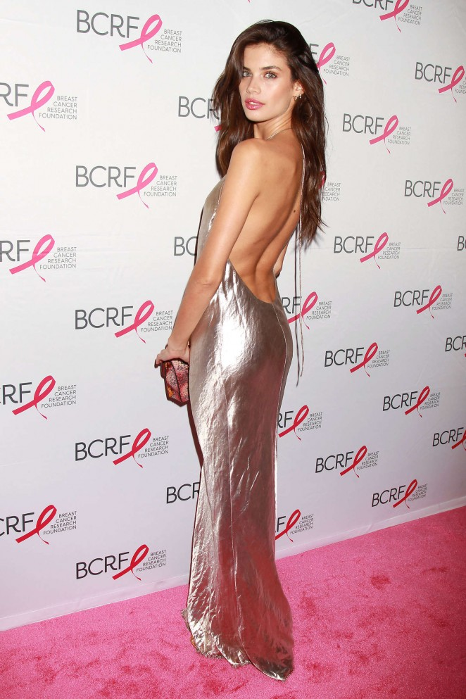 Sara Sampaio: Breast Cancer Research Foundation Hot Pink Party -02