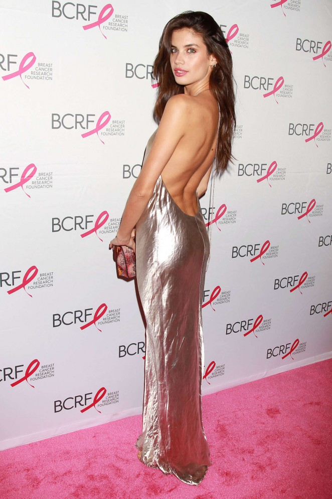 Sara Sampaio: Breast Cancer Research Foundation Hot Pink Party -04