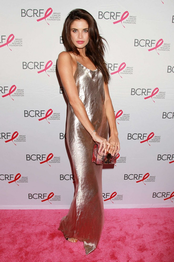 Sara Sampaio: Breast Cancer Research Foundation Hot Pink Party -06