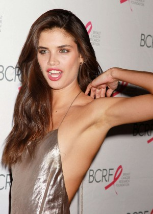 Sara Sampaio - Breast Cancer Research Foundation Hot Pink Party in NY