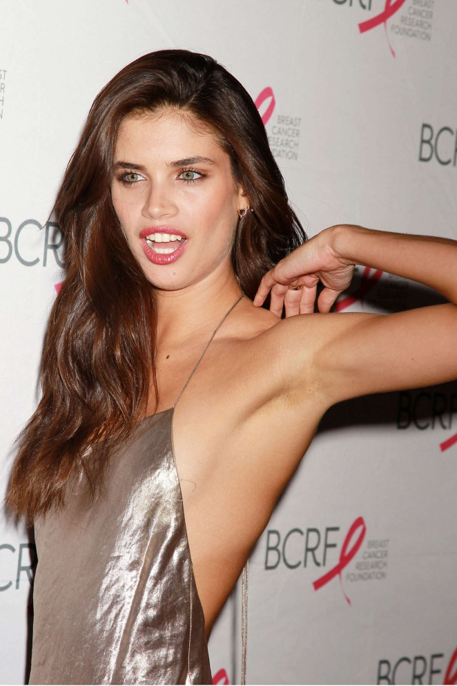 Sara Sampaio – Breast Cancer Research Foundation Hot Pink Party in NY