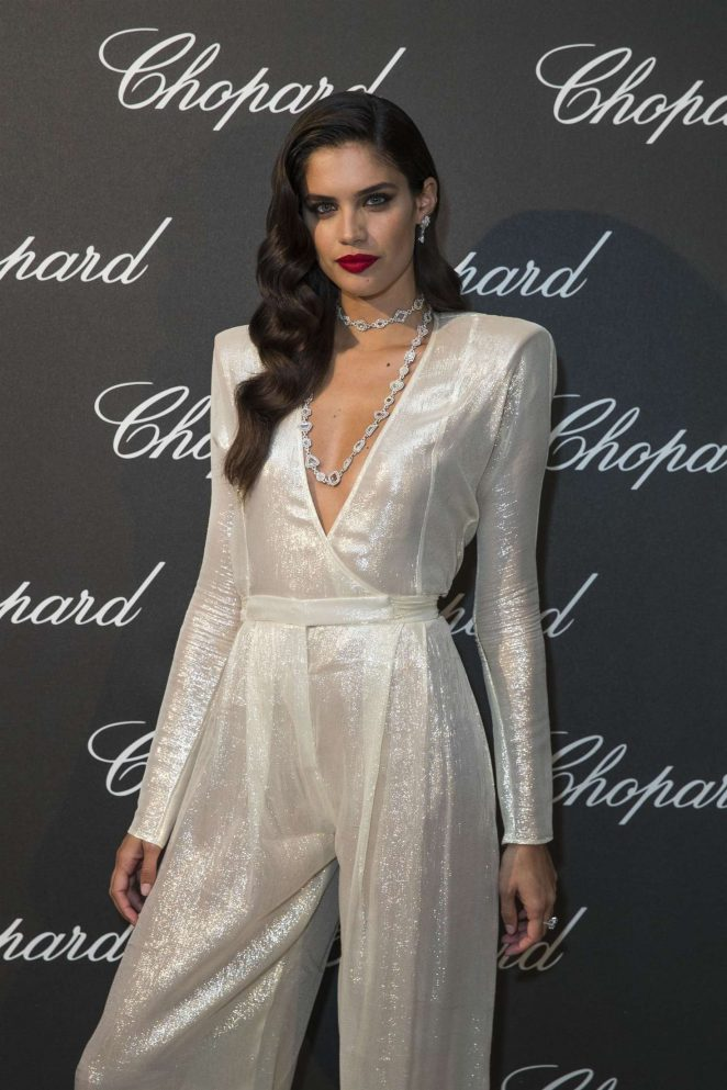 Sara Sampaio – Chopard's Dinner for Couture in Paris
