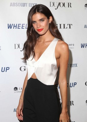 Sara Sampaio - DuJour Magazine's Celebration of Rob Gronkowski in NYC