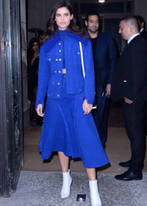 Sara Sampaio - Elie Saab 2017 Fashion Show in Paris