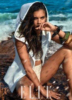 Sara Sampaio - Elle China Photoshoot 2017