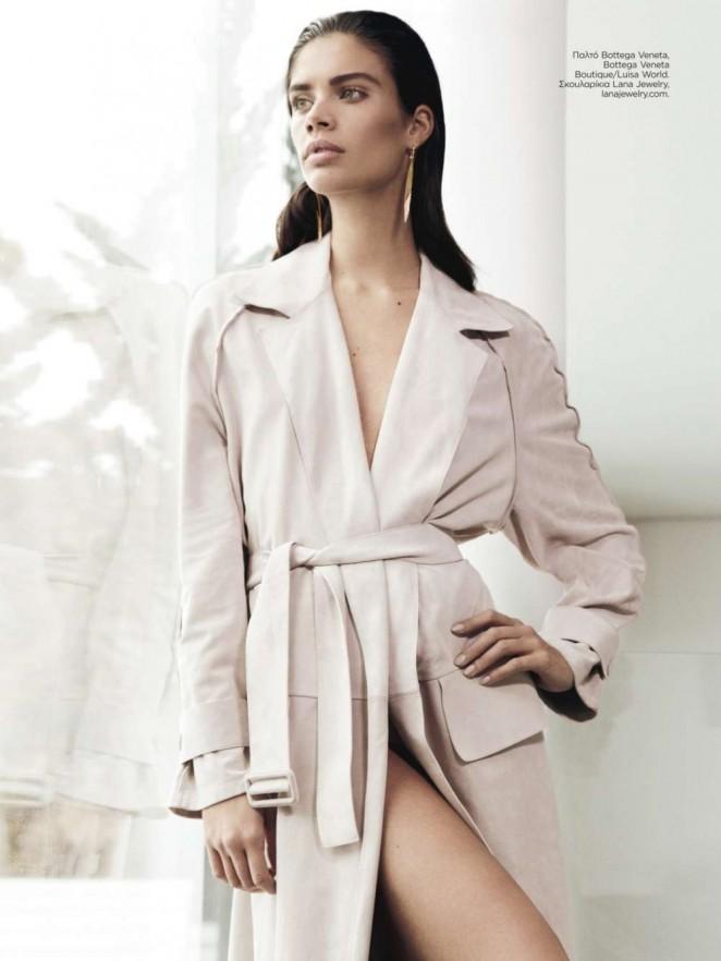 Sara Sampaio - Harper's Bazaar Greece Magazine (June 2015)