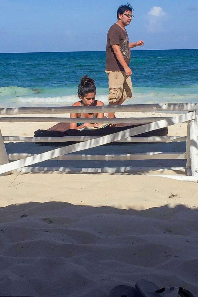Sara Sampaio in Bikini 2016 -37