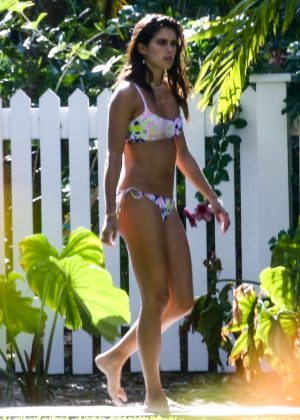 Sara Sampaio in Bikini - Victoria's Secret Photoshoot in Key West