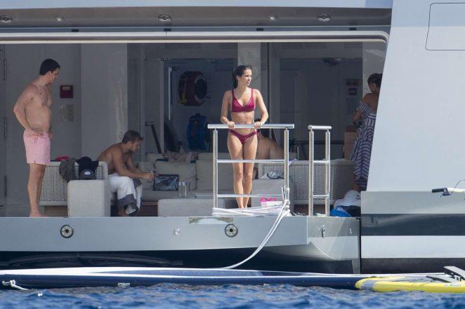 Sara Sampaio 2017 : Sara Sampaio in Red Bikini 2017 -53