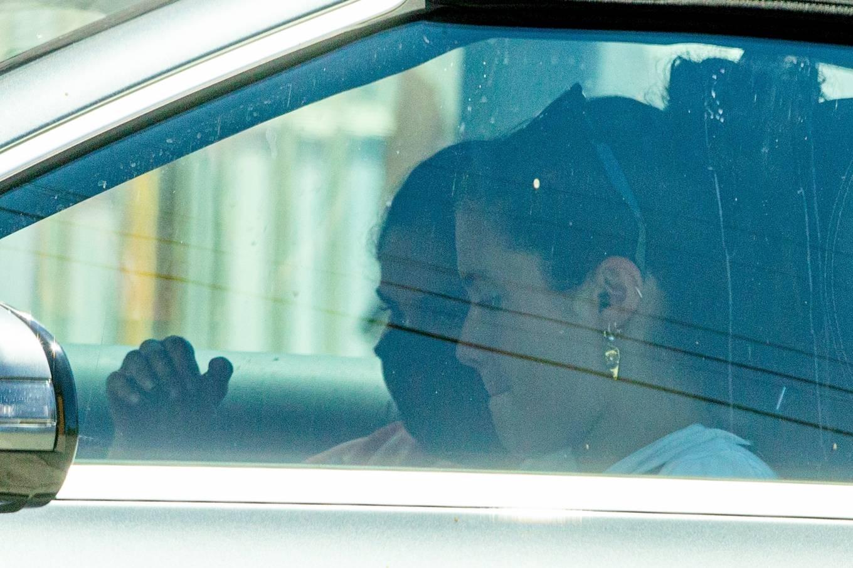 Sara Sampaio 2020 : Sara Sampaio – In the car with a friend -06