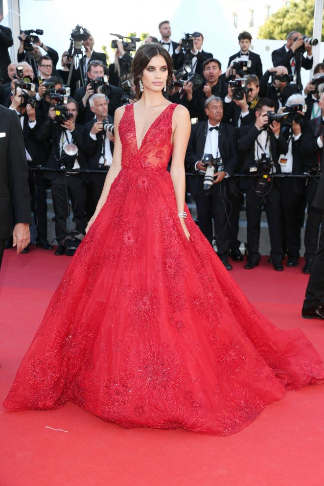 Sara Sampaio – 'Ismael's Ghosts' Screening at 70th Annual Cannes Film Festival in France