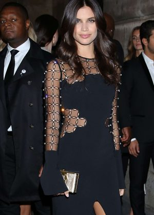 Sara Sampaio - L'Oreal Gold Obsession Party 2016 in Paris